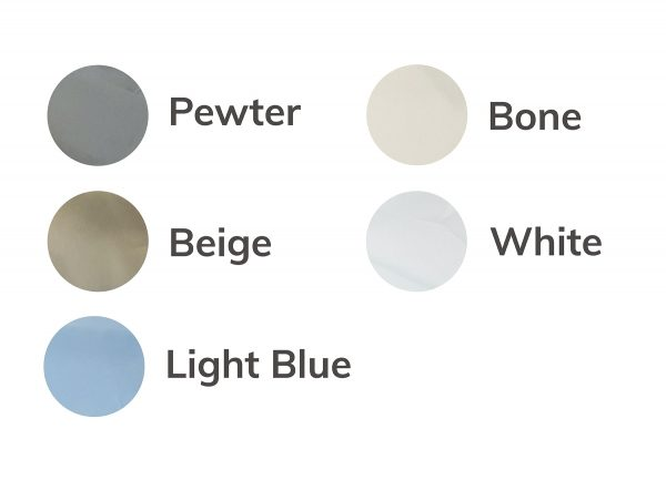 Von Viva Thread Count 300 Colour Options - Pewter, Beige, Light Blue, Bone and White