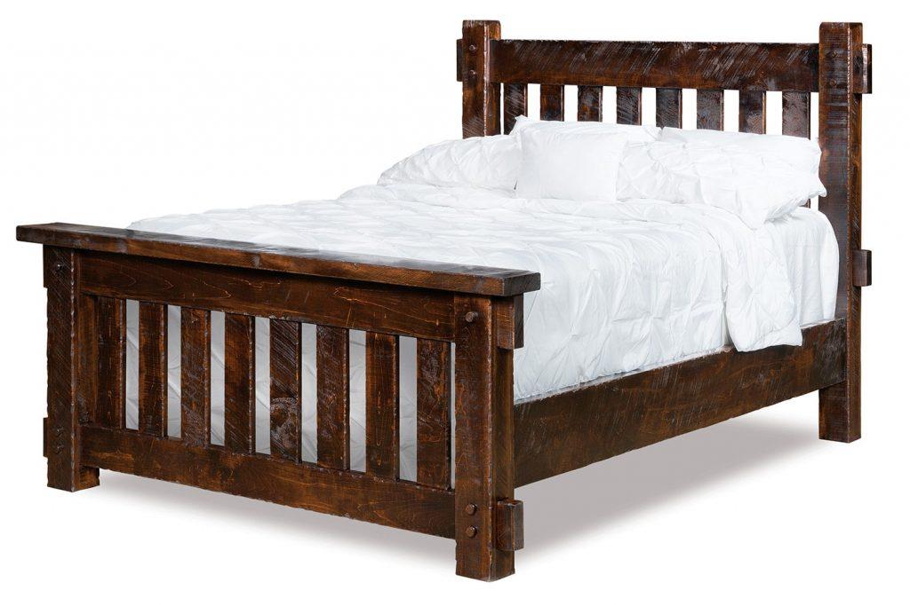 Houston Rough Sawn Bed